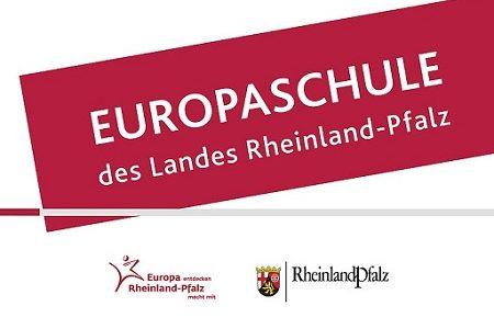 """Ausschreibung: Zertifikat """"Europaschule des Landes Rheinland-Pfalz, 2020/2021"""
