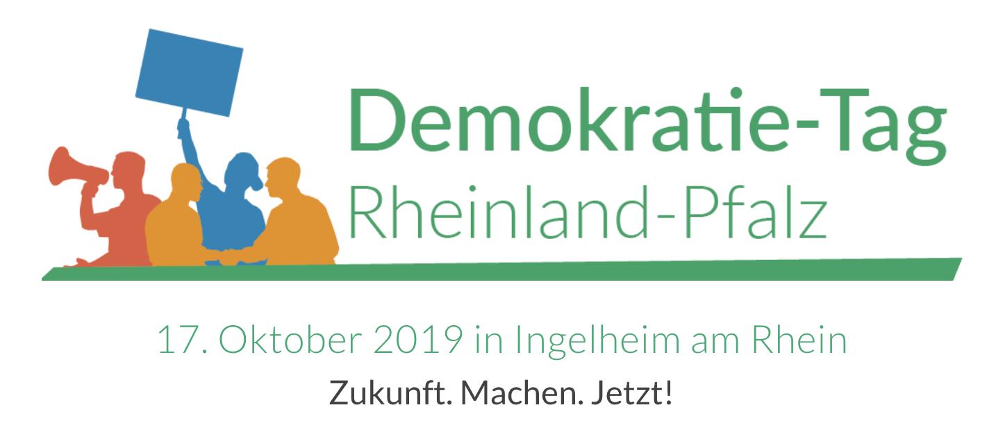 Logo Demokratietag 2019