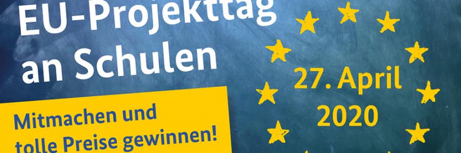 #EUProjekttag an Schulen – Europa kommt in die Schule, 27. April 2020