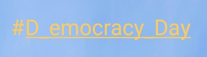 #D_emocracy_Day – Hashtag gegen Rechts