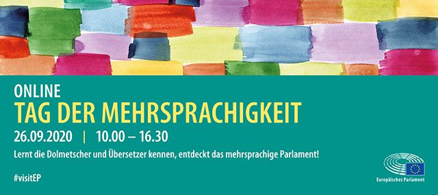 Tag der Mehrsprachigkeit 2020 – attraktives Programm!