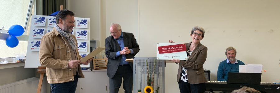Zertifizierungsfeier der BBS Boppard zur Europaschule