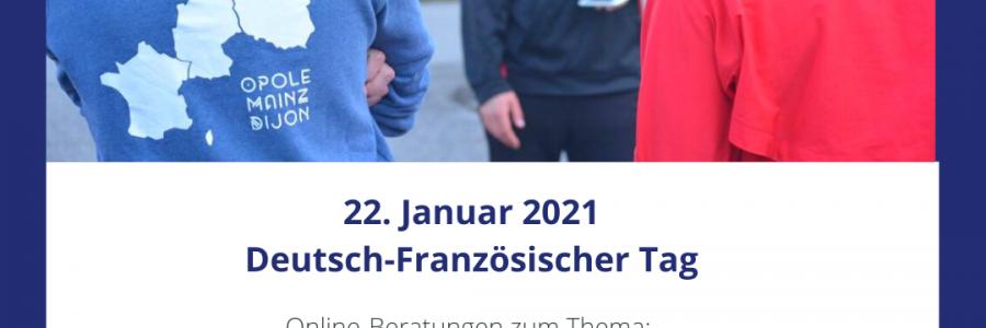 """Online-Videokonferenz am 25.01. um 16 Uhr: """"Deutsch-Französische Schulpartnerschaften und -projekte"""""""