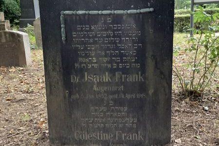 Forschungsprojekt zur Familie Frank auf dem jüdischen Friedhof in Landau – Max-Slevogt-Gymnasium