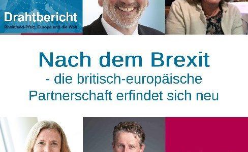 Podcast – Drahtbericht: Nach dem Brexit – die britisch-europäische Partnerschaft erfindet sich neu.
