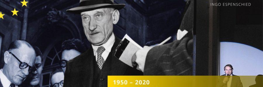 Einladung 70 Jahre Schuman-Plan – 70 Jahre Europa. Eine Bilanz.